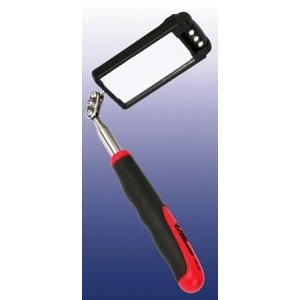 LED Lighted Telescopic Square Inspection Mirror