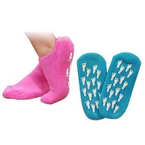 Silipos Moisturizing Gel Terry Cloth Socks