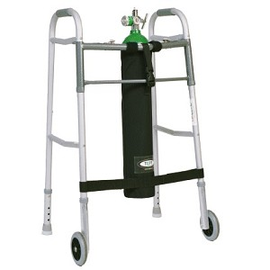 TO2TE E Size Walker Oxygen Tank Holder
