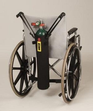 TO2TE E Size Oxygen Tank Bag for Walkers & Wheelchairs